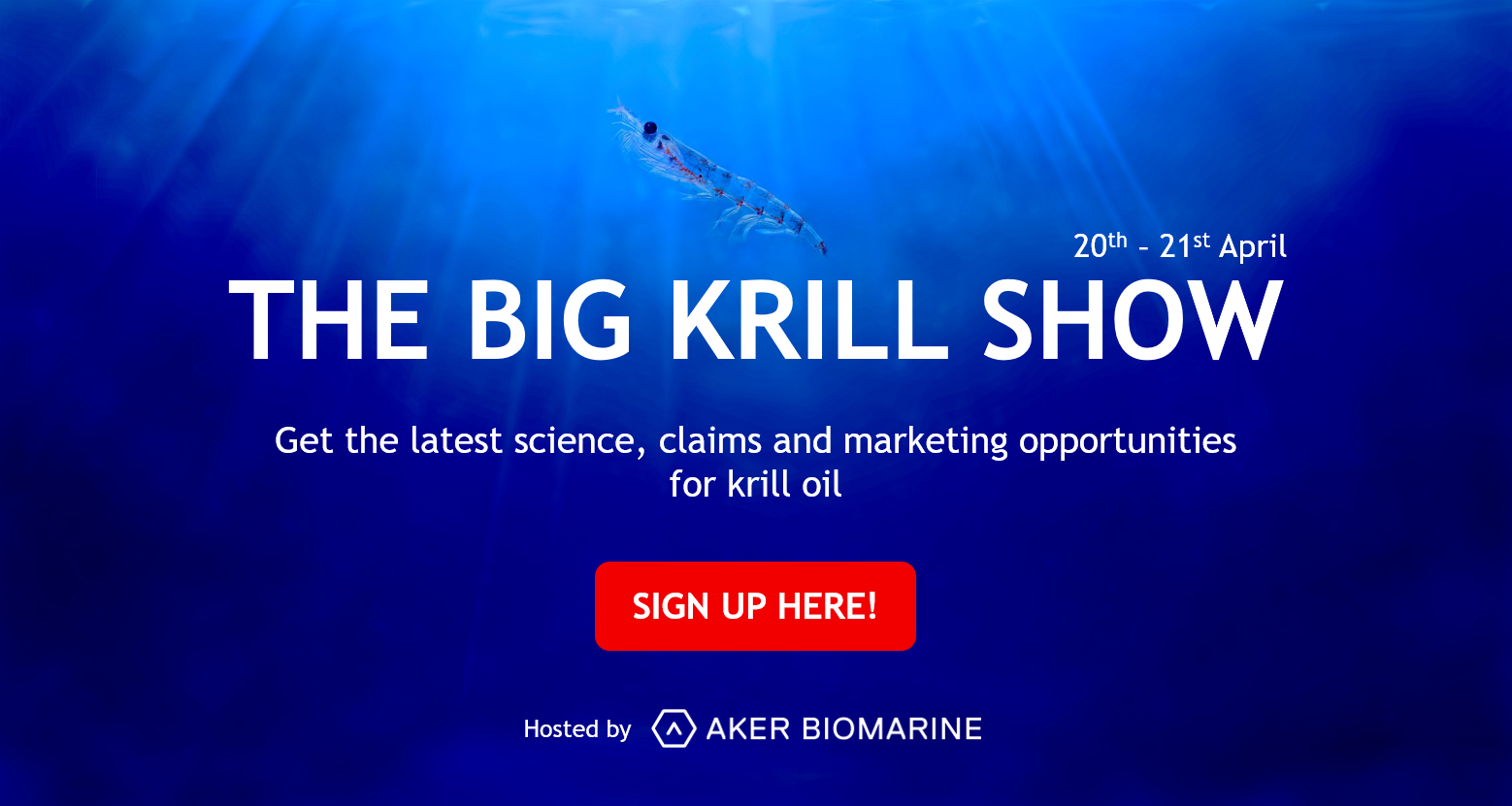big krill show digital event for krill oil