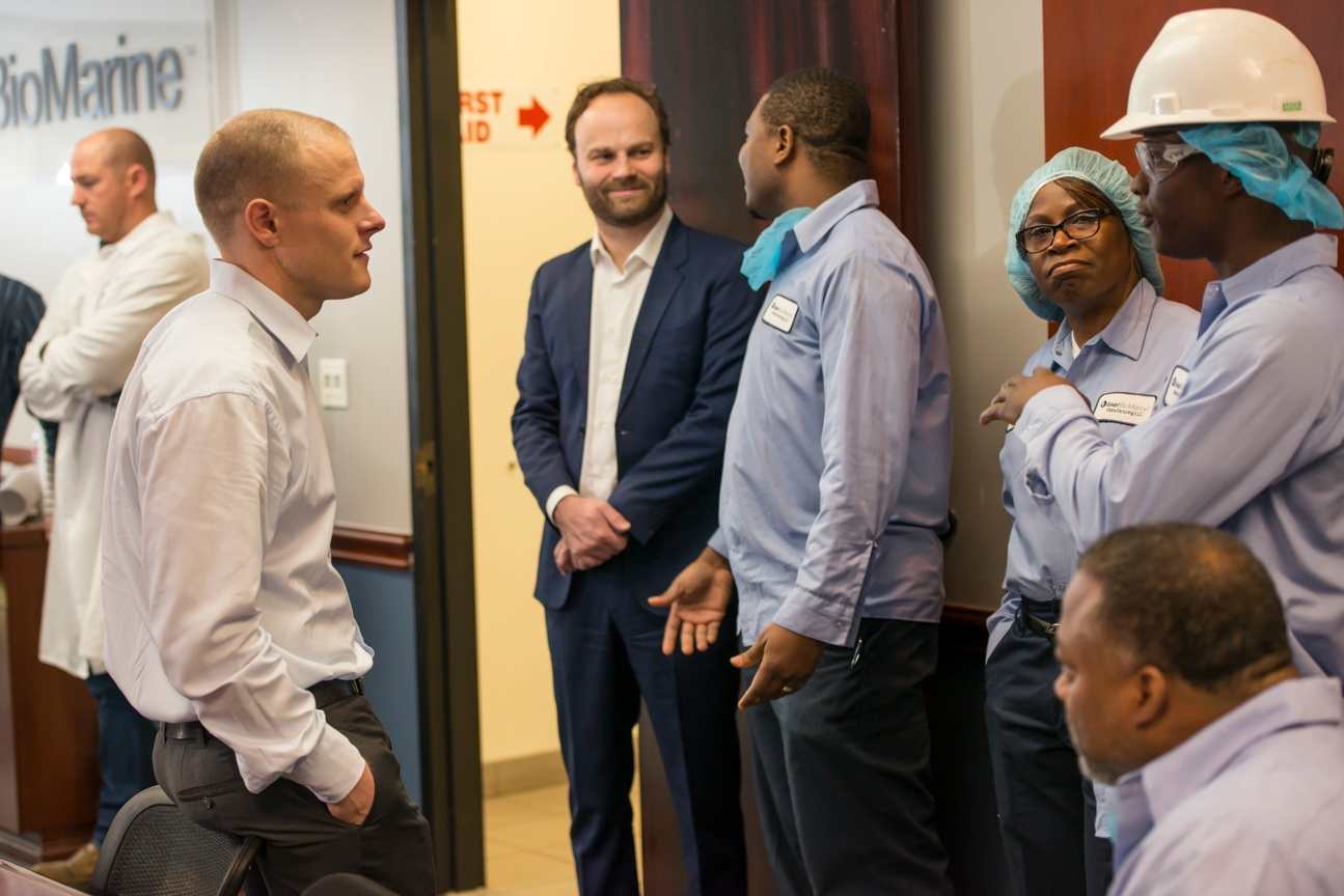 Our CEO & Houston Facility Employees